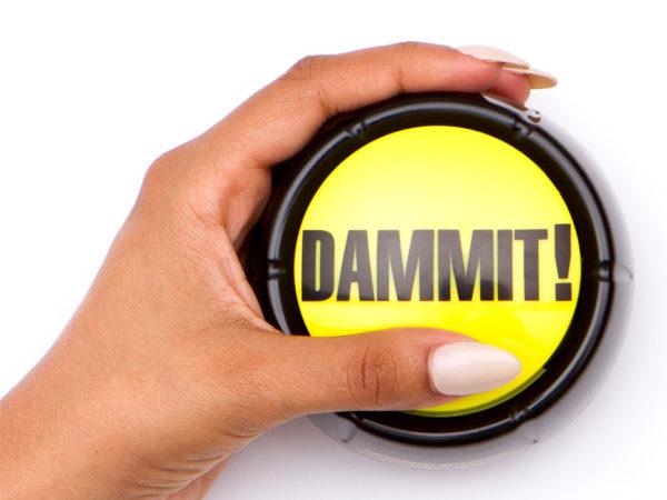 Dammit-button-hand